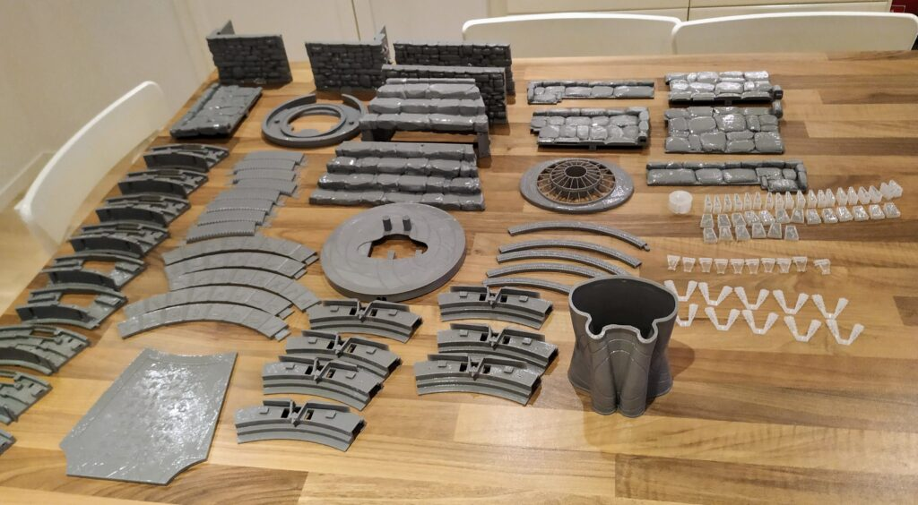 smoothed stargate parts