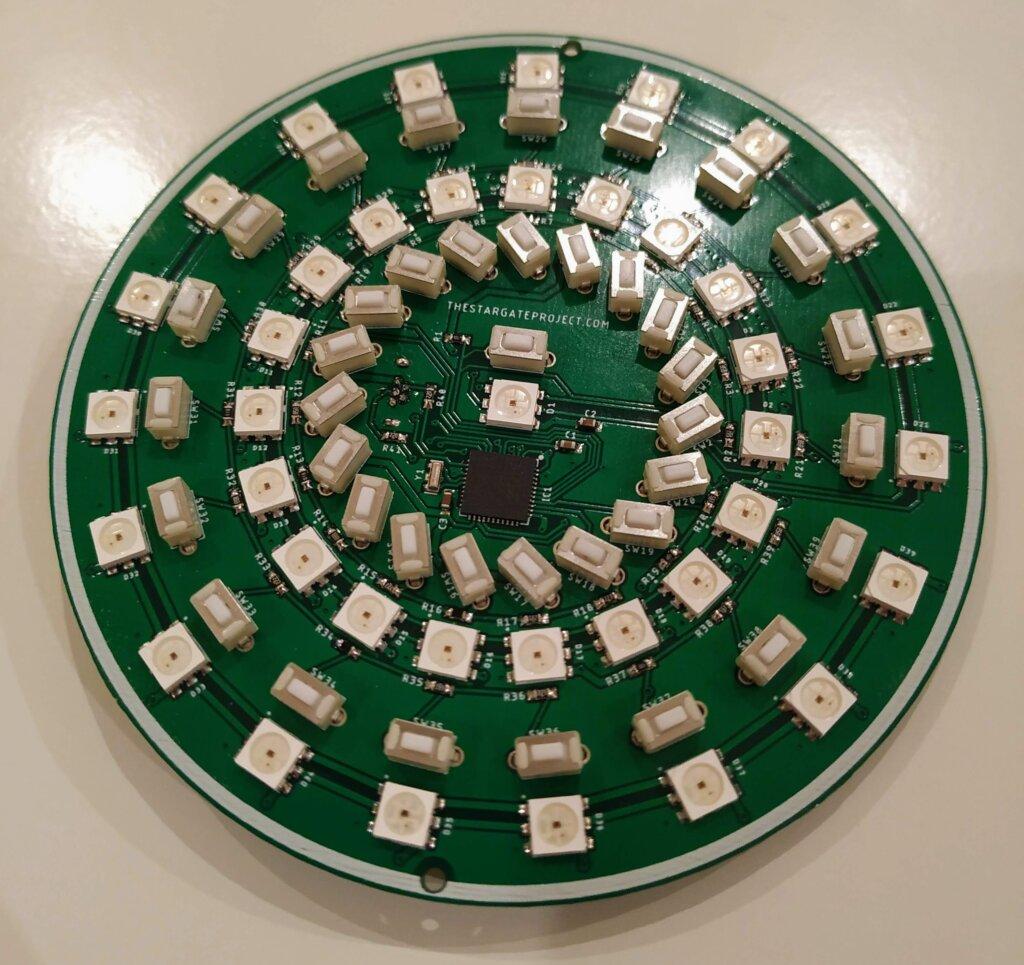 Assembled DHD PCB