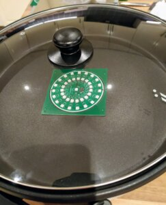 PCB skillet cooking