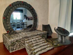 Painting the stargate