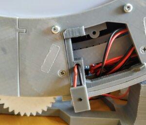 Homing sensor back