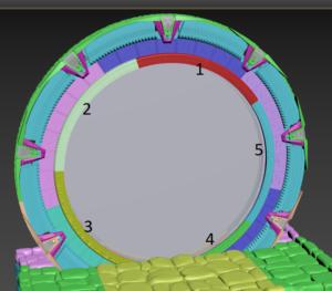 Stargate inner ring placment